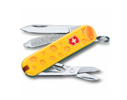 Нож-брелок Victorinox Classic SD Alps Cheese (58мм) 0.6223.L1902