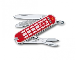 Нож-брелок Victorinox Classic SD A trip to London (58мм) 0.6223.L1808