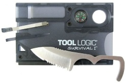 ToolLogic SOG Charcoal Survival Card 1 SVC1