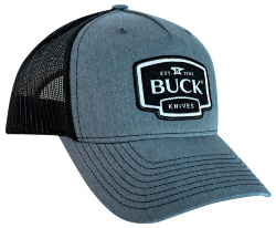 Бейсболка BUCK Gray Logo Patch Cap 89142