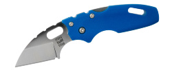 Мини-нож складной COLD STEEL Mini Tuff Lite Plain Blue 20MTB