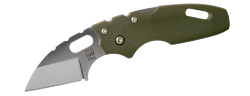 Мини-нож складной COLD STEEL Mini Tuff Lite Plain OD Green 20MTGD