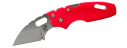 Мини-нож складной COLD STEEL Mini Tuff Lite Plain Red 20MTR